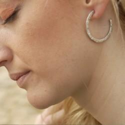 TERESA - Pendientes con perla blanca
