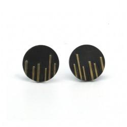 Montse- Pendientes negro